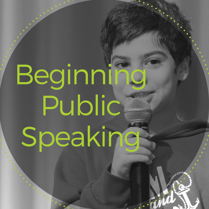 Beginning Public Speaking